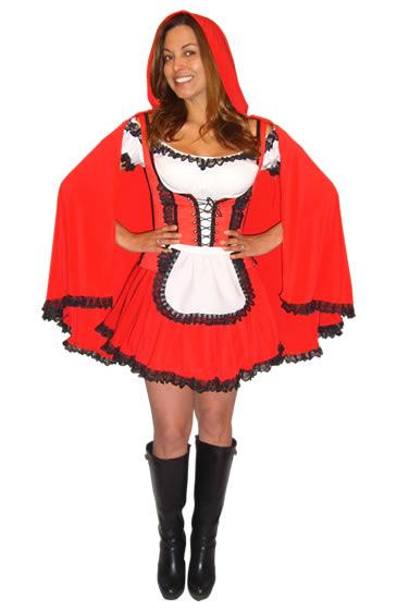 Disfraz de Caperucita Roja Disfraces Duende Azul. a5fc2c6f60ab